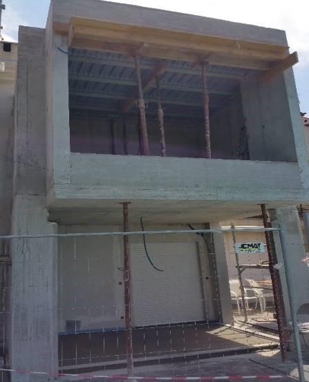 Extension d'une maison avec isolation par l'extérieur (ITE)