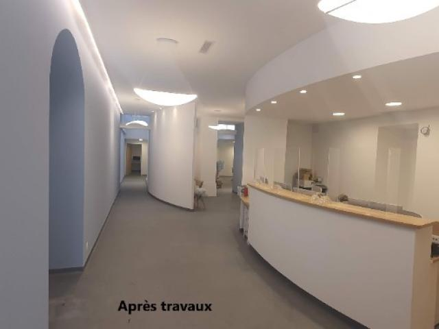 Réhabilitation d'un entrepôt pour création d'un cabinet ophtalmologique - Apres