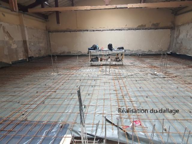 Réhabilitation d'un entrepôt pour création d'un cabinet ophtalmologique - Pendant